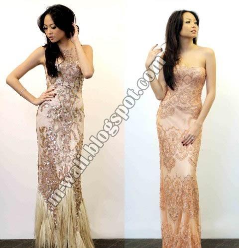 Trend Model Kebaya Modern 2012 Artis Indonesia