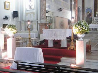 Imagem da Igreja do Santissimo Sacramento.