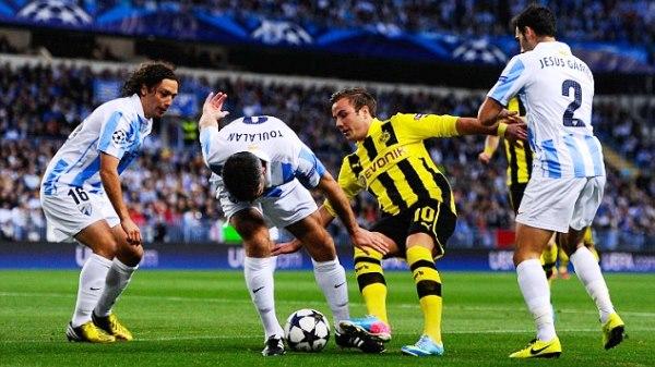 UCL - Malaga v Borussia Dortmund