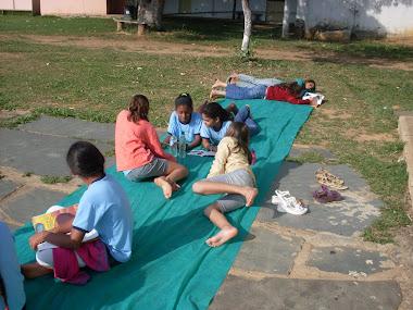 alunos e alunas na ressignificação do espaço da comunidade para articulação de processos da leitura