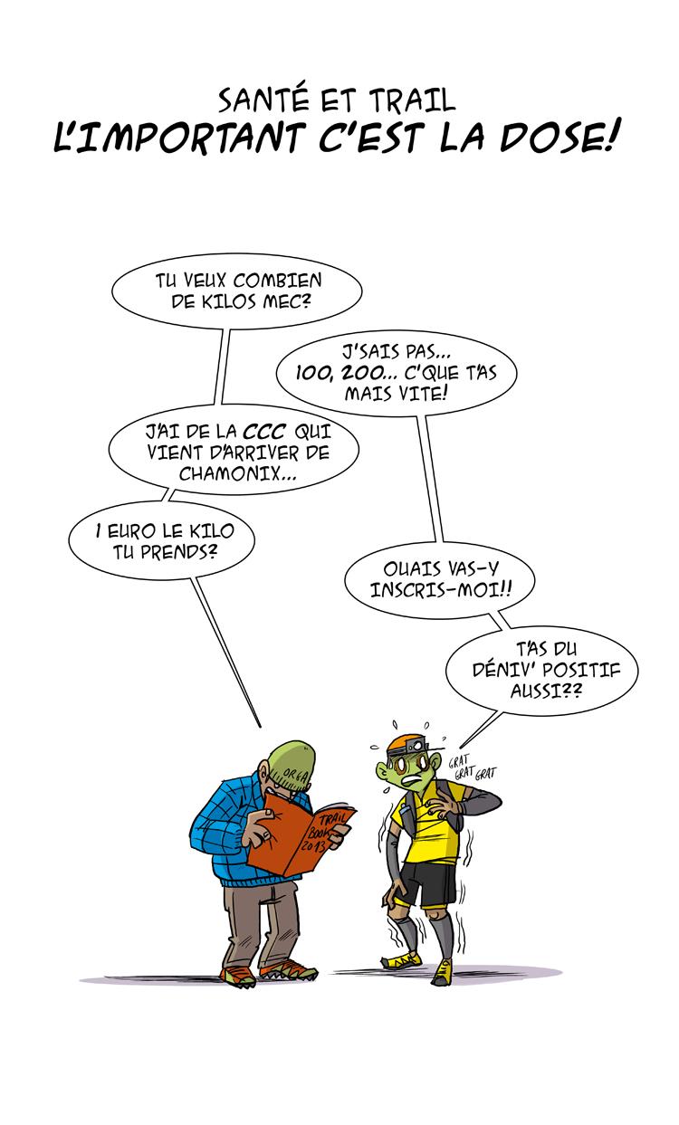 Des bosses et des bulles trail book - Image coureur humoristique ...