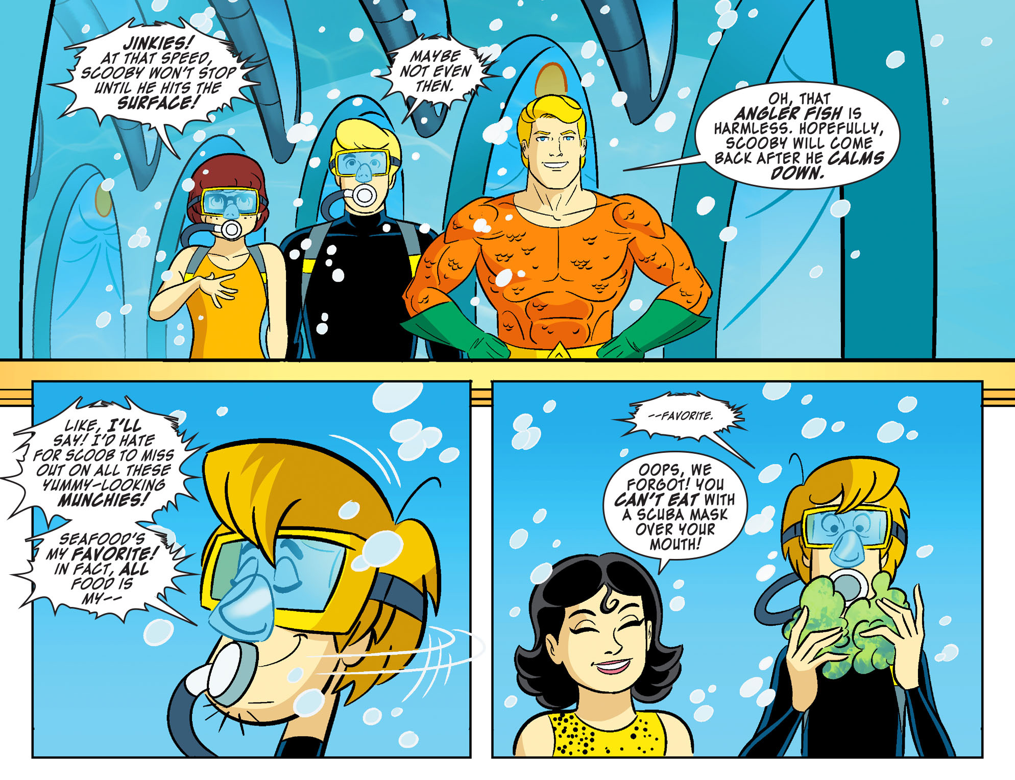 Read online Scooby-Doo! Team-Up comic -  Issue #28 - 22