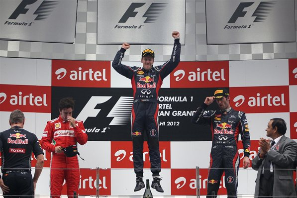 2012 Formula 1 Airtel Indian Grand Prix 1