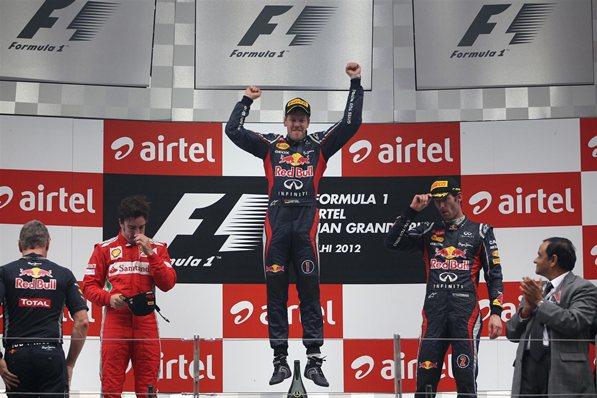 Formula 1 Indian GP Results: Sebastian Vettel Wins