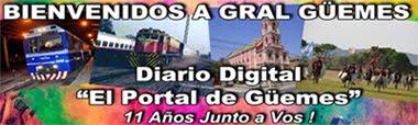 El Portal de Güemes | Diario Digital | www.gralguemes.com.ar |  2.018