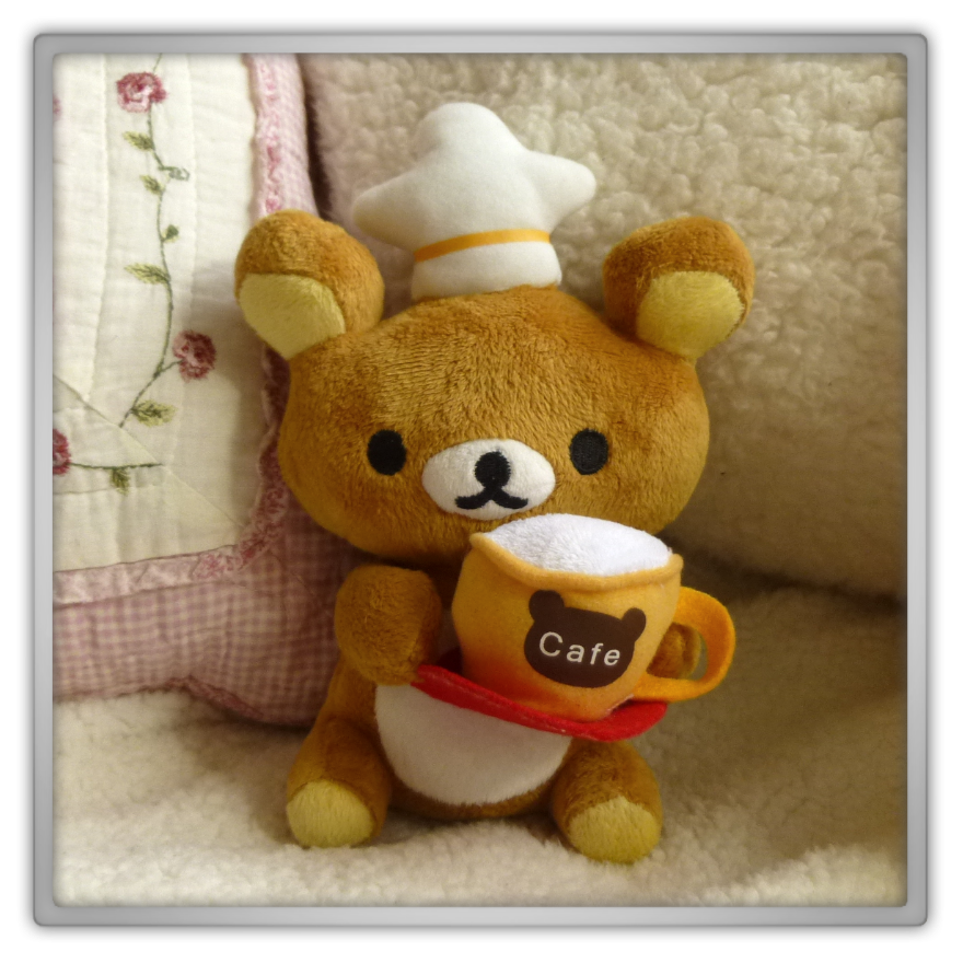 Blippo haul review shoplog rilakkuma plush cafe kawaii