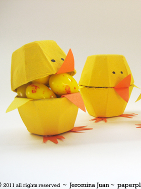 Ben noto Giocabosco: creare con Gnomi e Fate: Lavoretti di Pasqua da fare  MN67