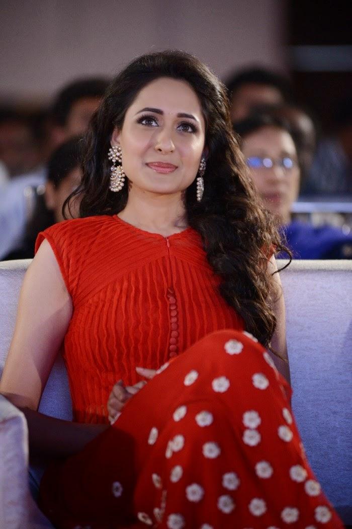 Pragya Jaiswal Latest Stills In Red Dress