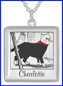 Cat Necklace w/ Your Name