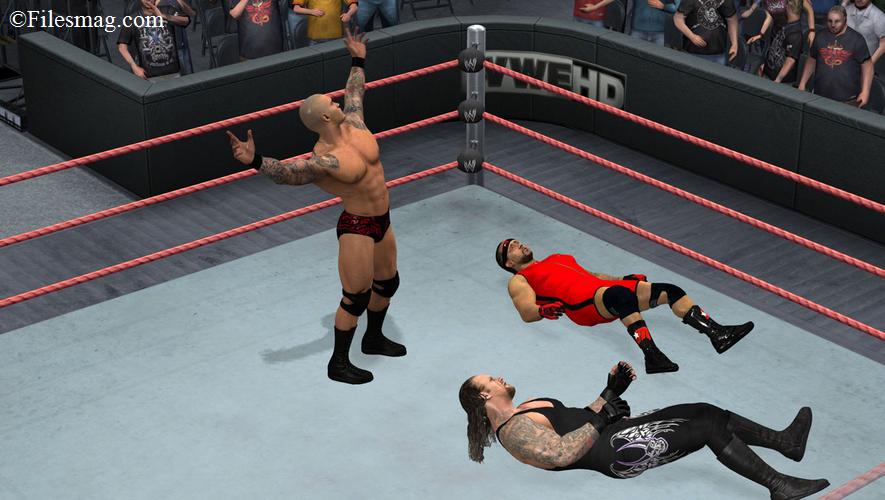 Wwe smackdown vs raw 2011 PC Game Download (Screenshot)