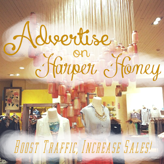 advertise to young women in college on HarperHoney.com!
