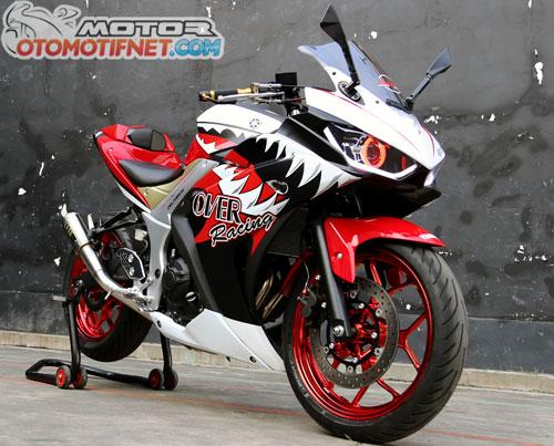 Modifikasi Yamaha R25 Terbaik Tour De Belitung