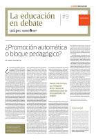 La educación en debate