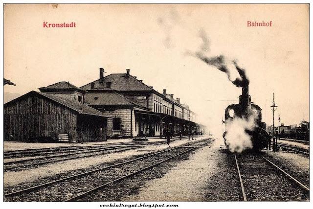 Vechea gara din Brasov