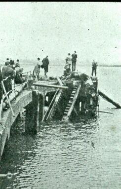 Bedenham Explosion Pier