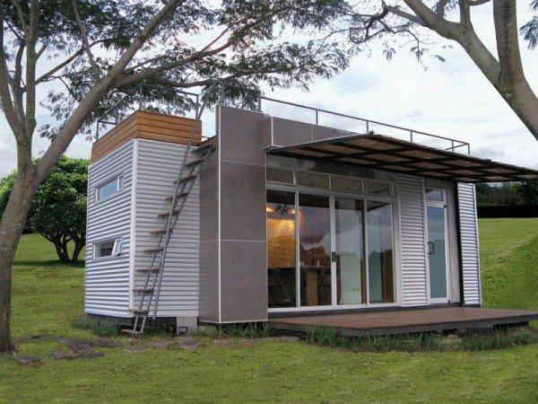 Casas contenedores una casa completa en un contenedor de - Contenedor maritimo casa ...