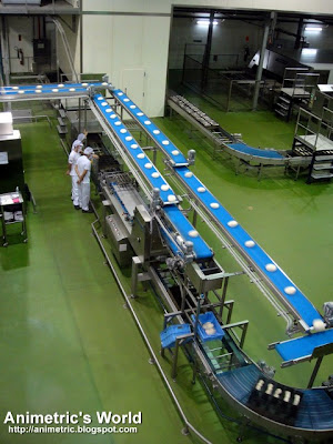Production area at Gardenia Plant in Sta. Rosa, Laguna