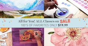 ALL Class Sale @ Craftsy