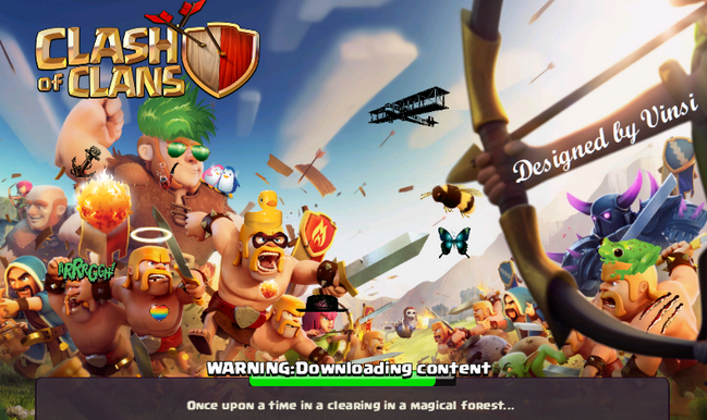 Memainkan Clash of Clans Tanpa Root HP