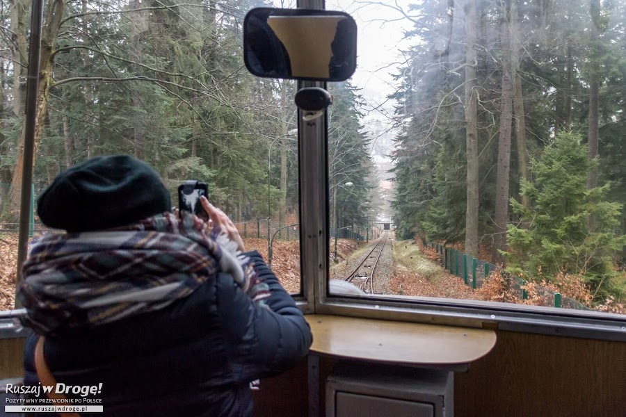Jedziemy na Górę Parkową w Krynicy-Zdroju
