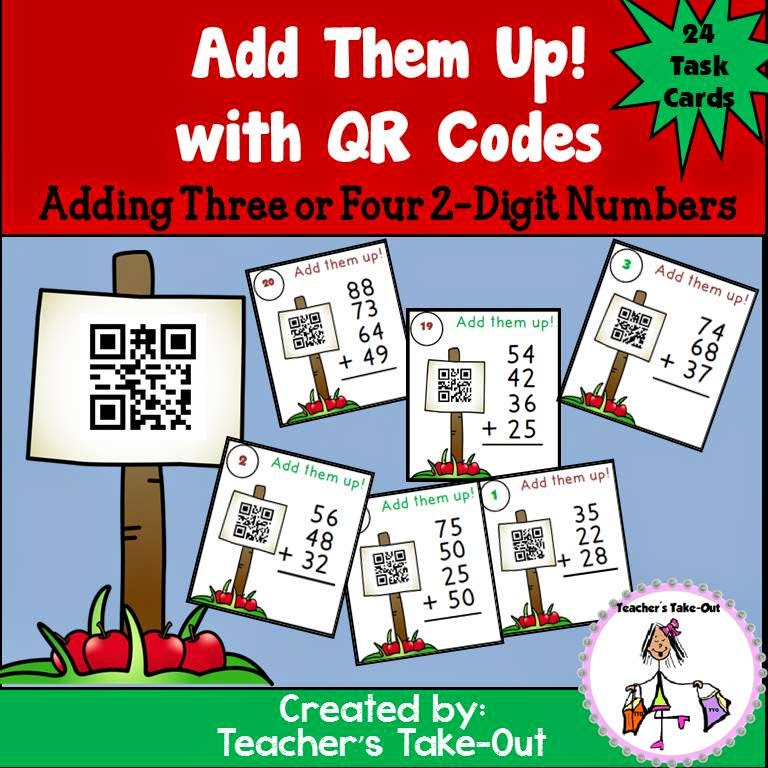Add Them Up! with QR Codes