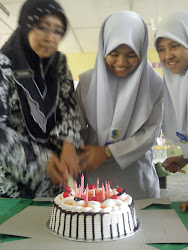 my bufday with tcher zaharah n all my frenz 6av ..