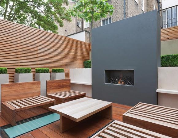 Estufas y hogueras de exterior la ltima tendencia 1 for Estufas para terrazas