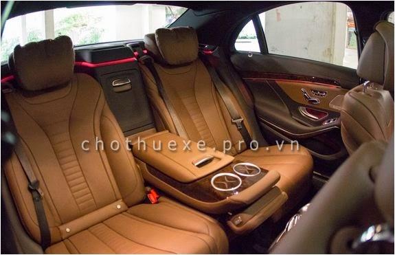 Cho thuê xe cưới VIP Mercedes S500 L 2014 đẳng cấp siêu VIP 3