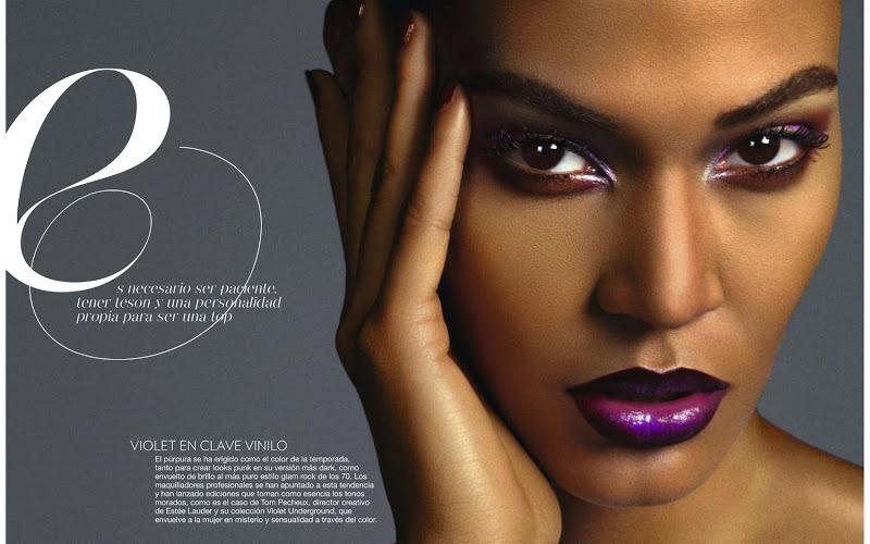 usta ombre Magazine: Glamour, Spain, November 2012
