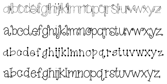Soaring Through Second : Font Frenzy