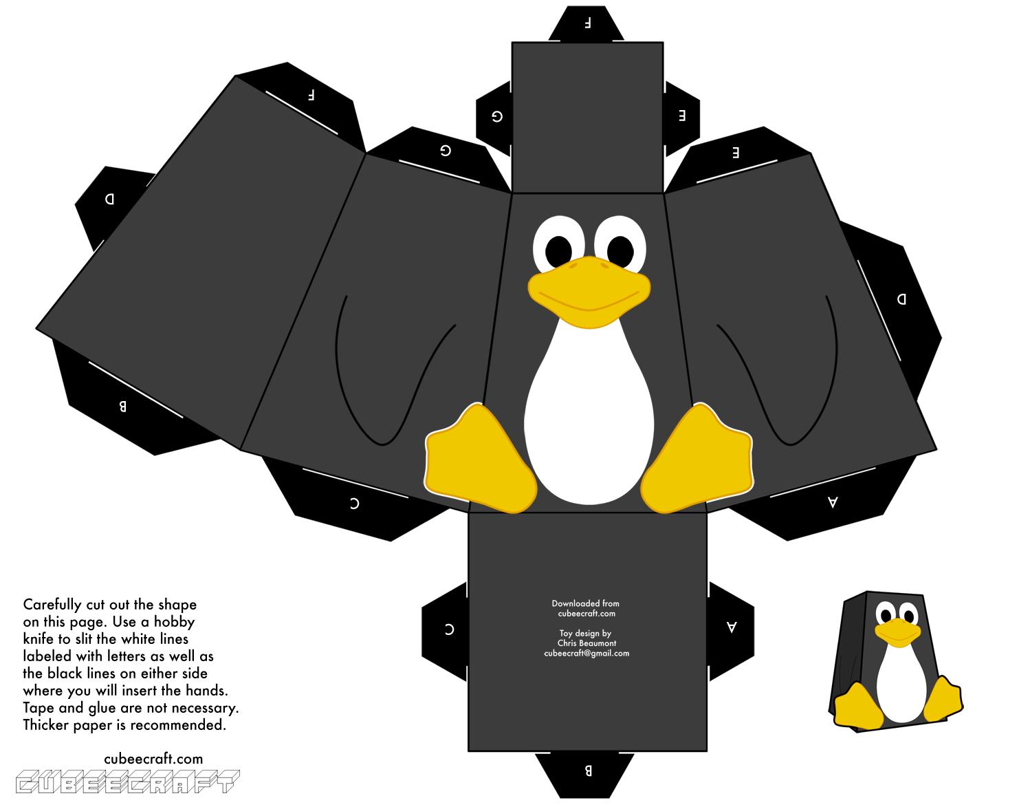 Dini Create Cubeecraft Tux linux