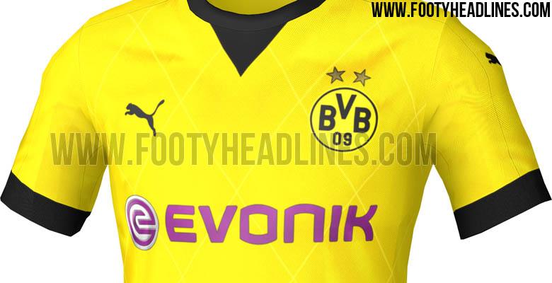 Se filtra el modelo de la nueva camiseta Puma del Borussia Dortmund para jugar Europa League