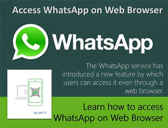 Access WhatsApp on Web Browser
