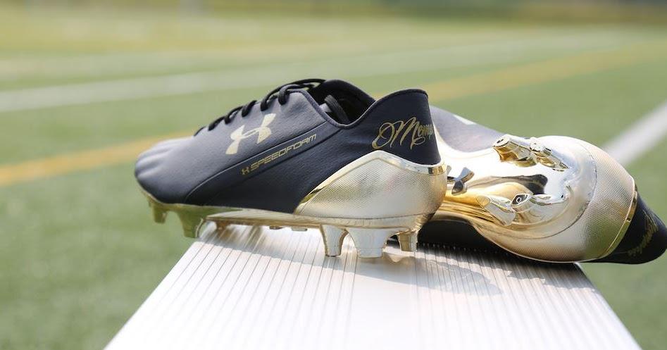 Black Gold Under Armour Speedform Memphis Depay Boots Released
