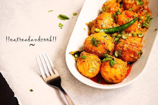 bengali alur dom recipe