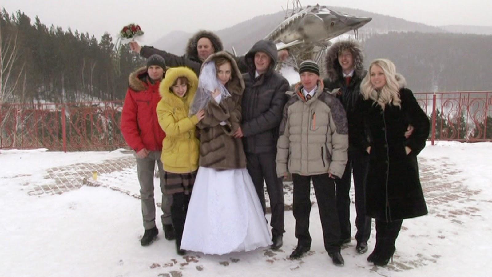 свадебные прогулки по памятным местам в Красноярске