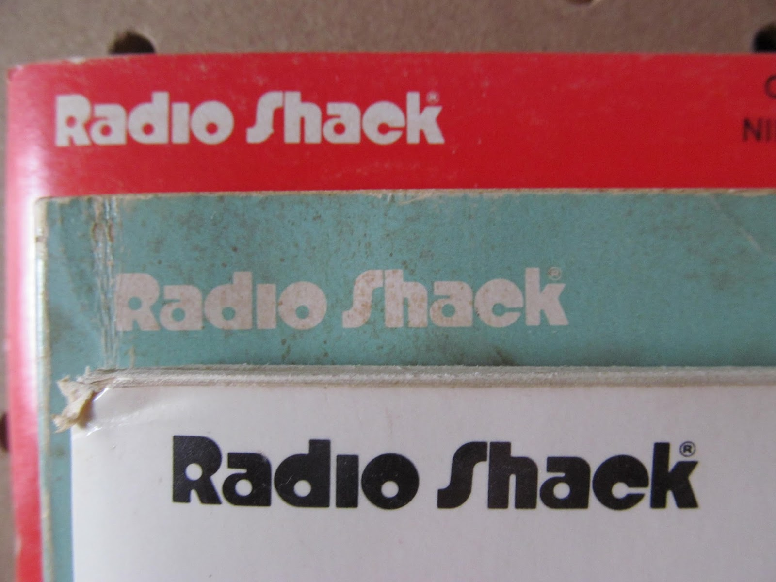 Trip To The Mall Find Radioshack How To And Instructional Booklets