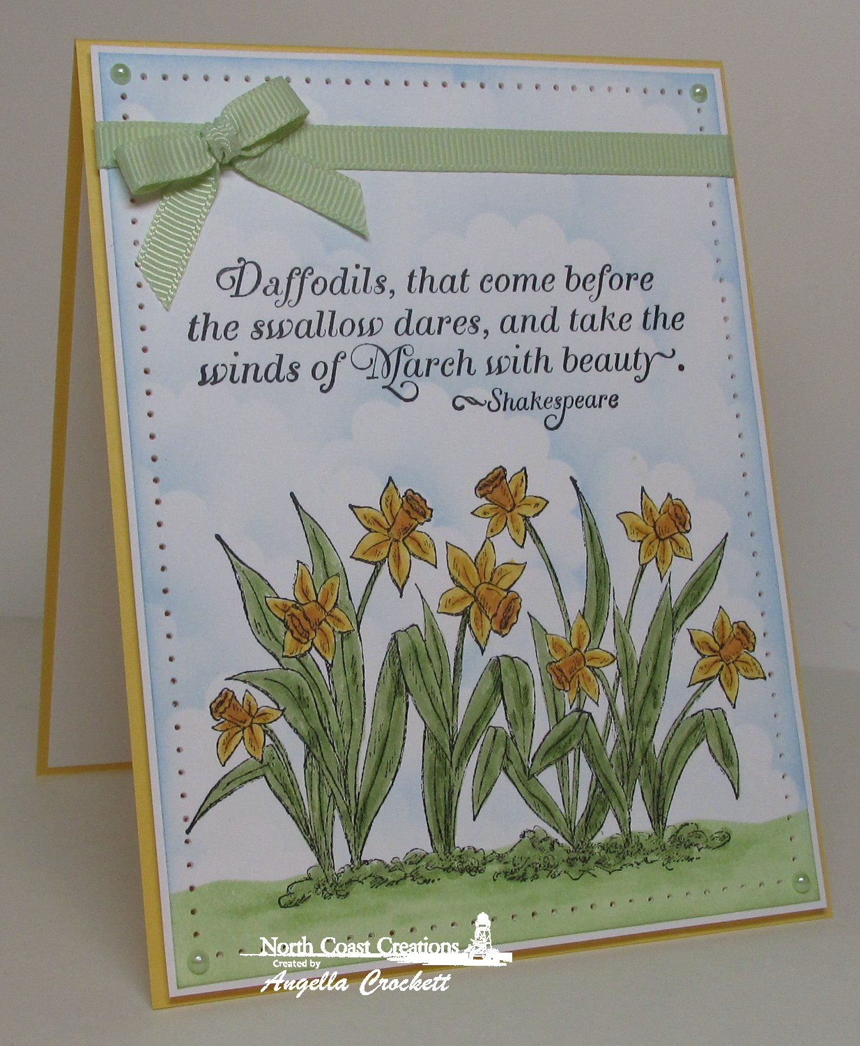 Stamps - North Coast Creations Daffodils