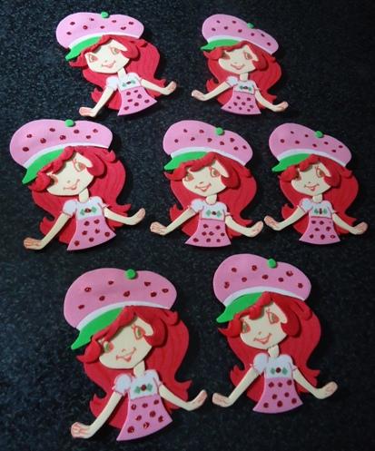 Trabajos de Miriam: Frutillitas - Cumpleaños Infantil