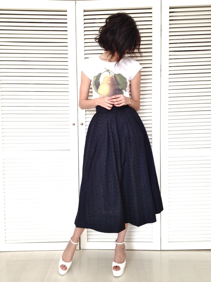 fashion trend for summer 2014 voluminous skirts
