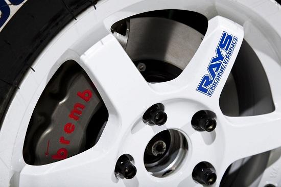2013 Scion xD rally car