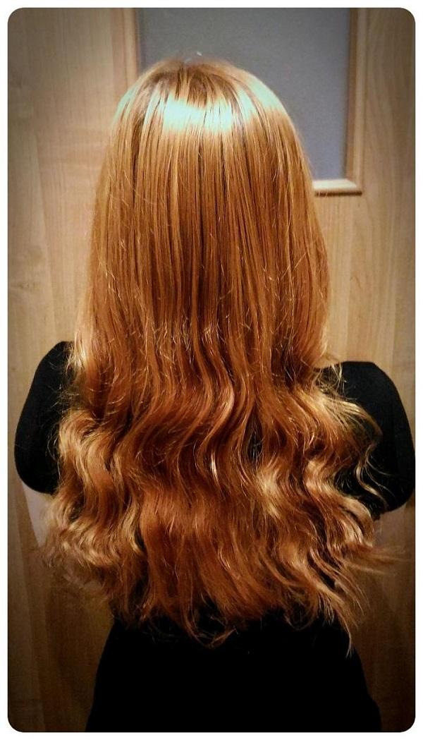 Kręcenie włosów na papier śniadaniowy - nieudany eksperyment