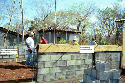 It all began with a building project in El Salvador