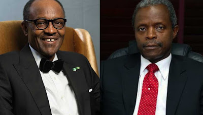 WOW! President Buhari and VP Osinbajo take 50% pay cut>>> see why!
