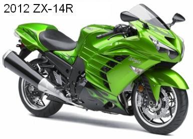 2012 Kawasaki Ninja ZX-14R/ZZR1400