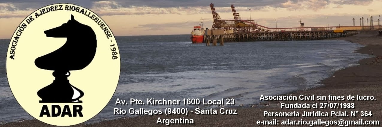 Ajedrez en Rio Gallegos