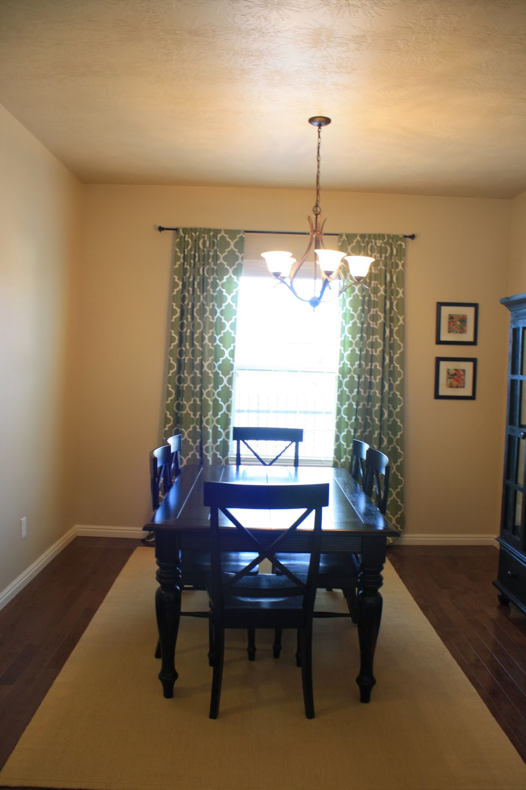 Living Room & Dining Room Before & After title=