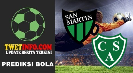 Prediksi San Martin vs Sarmiento, Argentina 28-09-2015
