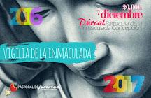 7 DE DICIEMBRE: VIGILIA DIOCESANA DE LA INMACULADA