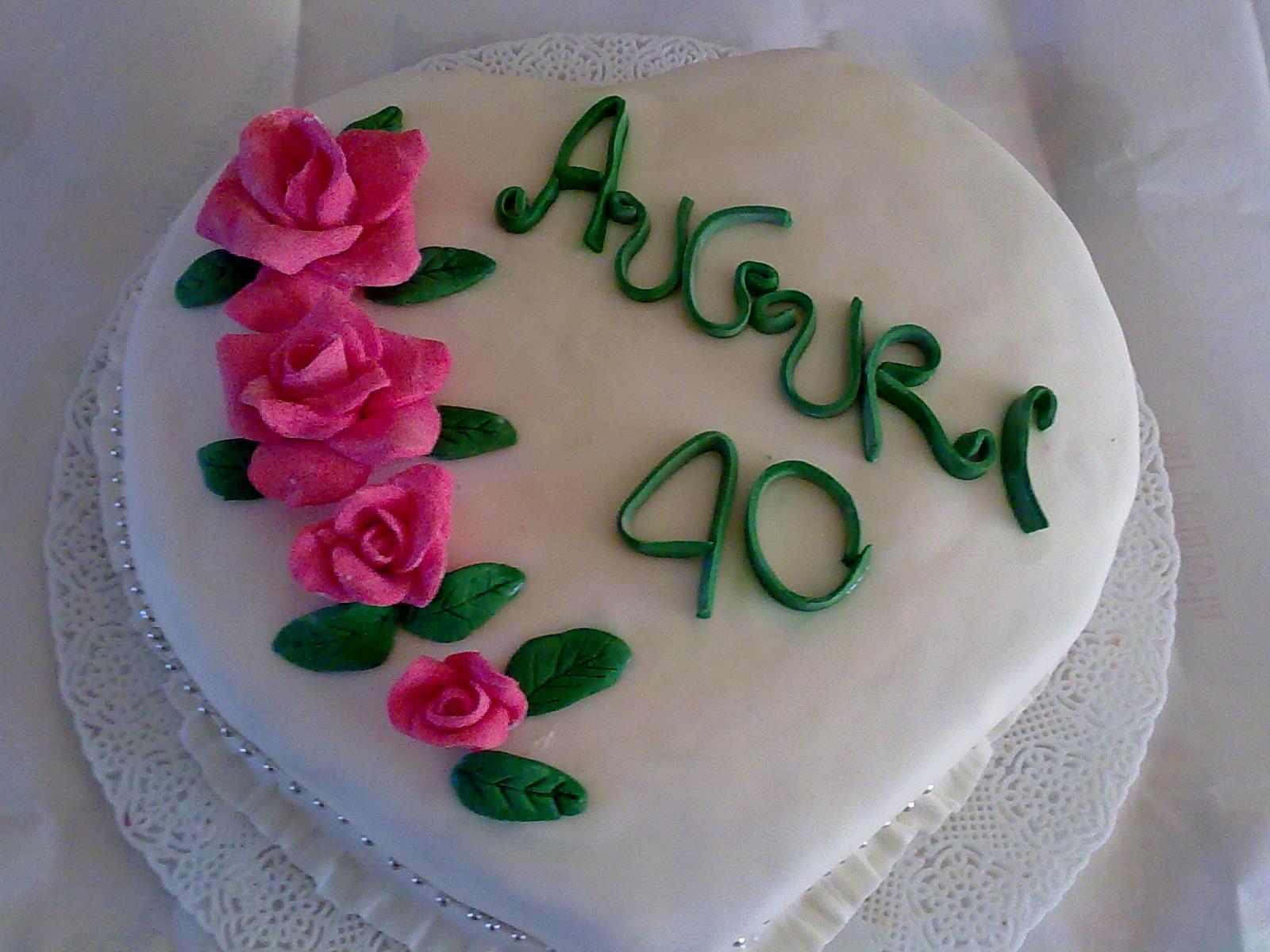 Dolcicreazioni torte e bijoux torta anniversario di for Anniversario di matrimonio